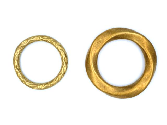 丸カン(真鍮鋳物)
